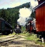 MRSR 5 running around the excursion trainset