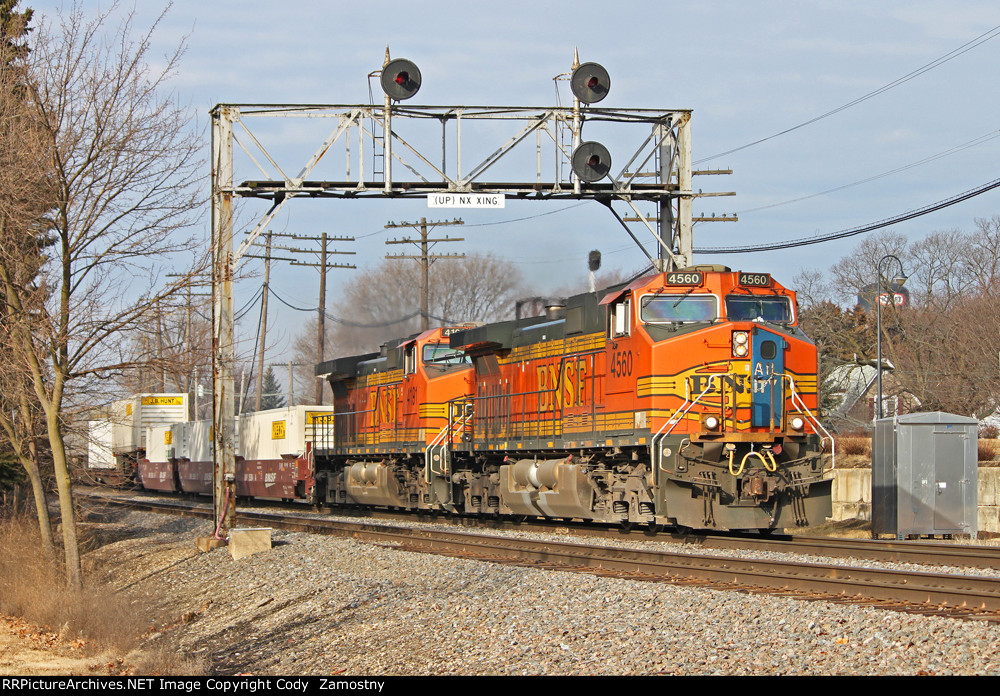 BNSF 4560 East
