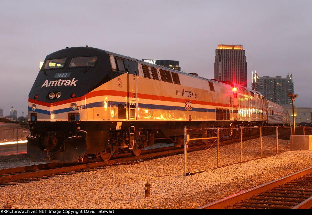 Amtrak's 40th Anniversary Train
