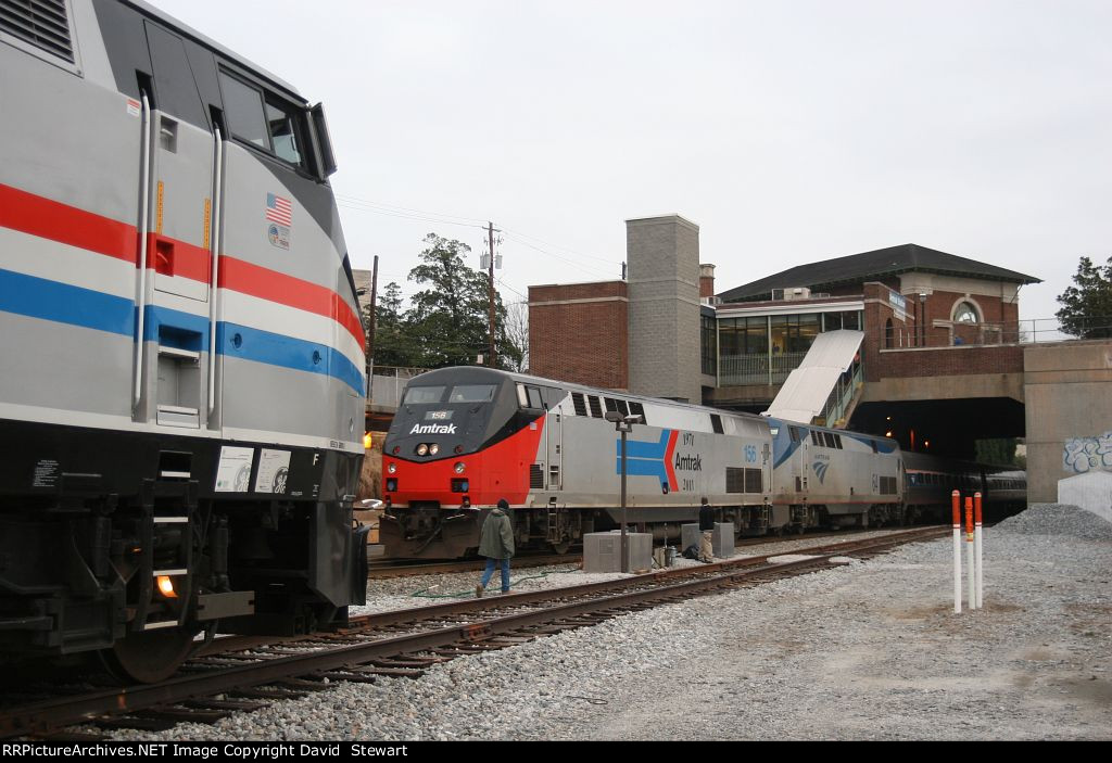 Amtrak's 40th Anniversary Train
