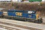 CSXT SD40-2 2436