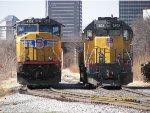 UP SD70M 4559 & UP GP40M-2 1508