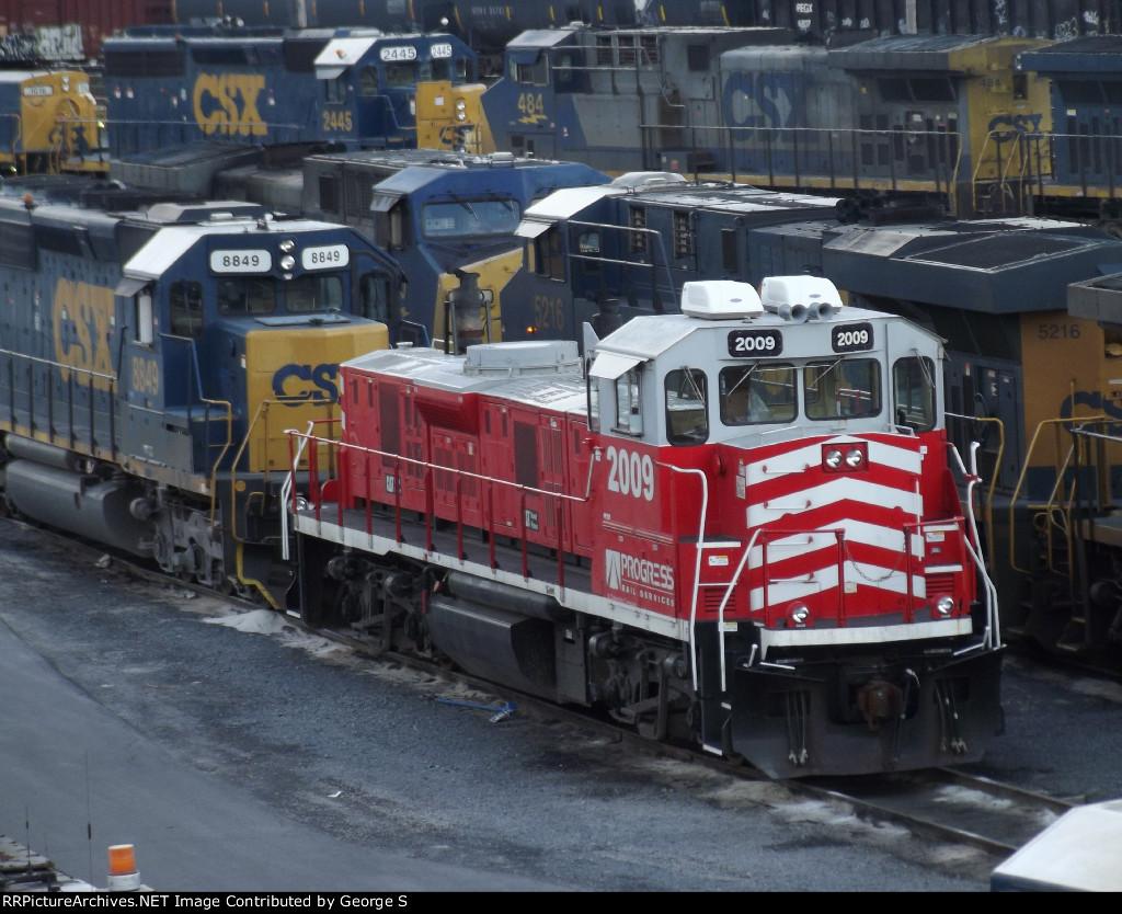 Progress Rail 2009