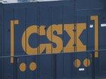 New CSX logo on 998