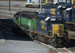 CSX and HLCX SD40s