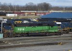 HLCX SD40-2 Wearing BN Colors