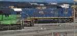 SD40s and a Goat