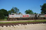 KCS 4599 leads a freight north
