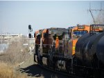 CLEAR SIGNAL & BNSF C44-9Ws 4578, 4405 and 4153