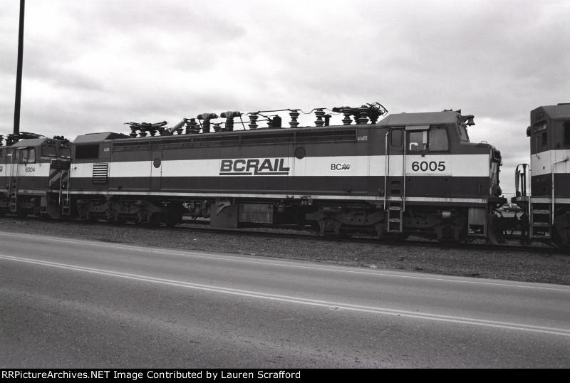 BC RAIL 6005 Scrapline