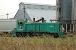 "Garvey International ""Willard"", is now the ADM Grain Terminal switcher. Is at the ADM Grain Terminal"