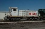 KCS 4223, ex KCS 1223, EMD NW2, now remote control, works at the Bartlett Grain Elevator