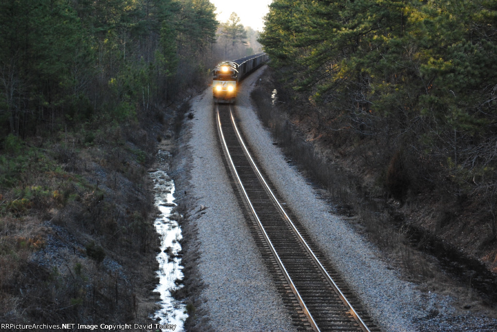 NS Loaded Coal Train
