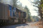CSX Empty Coal Train
