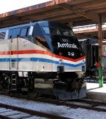 Amtrak Heritage Train Locomotive #822