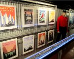Amtrak Exhibit Train Posters