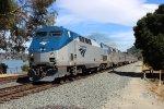 Amtrak 5 at Eckley