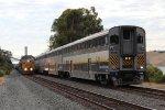 Amtrak Meets UP at Eckley