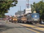 Freight Meets Passenger in Oakland