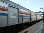 Amtrak Baggage Cars on the 40th Anniversary Train