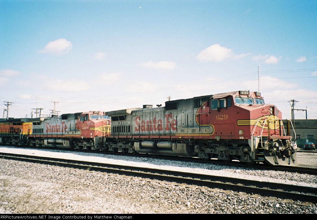 BNSF 629