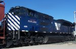 Montana Rail Link SD70ACe 4306 portrait