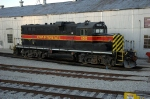 IAIS 400, EMD GP7, awaits assignment at the IAIS Shop