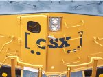 The New CSX Boxcar Logo on the front of CSX 994
