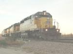 SD40s at Dusk
