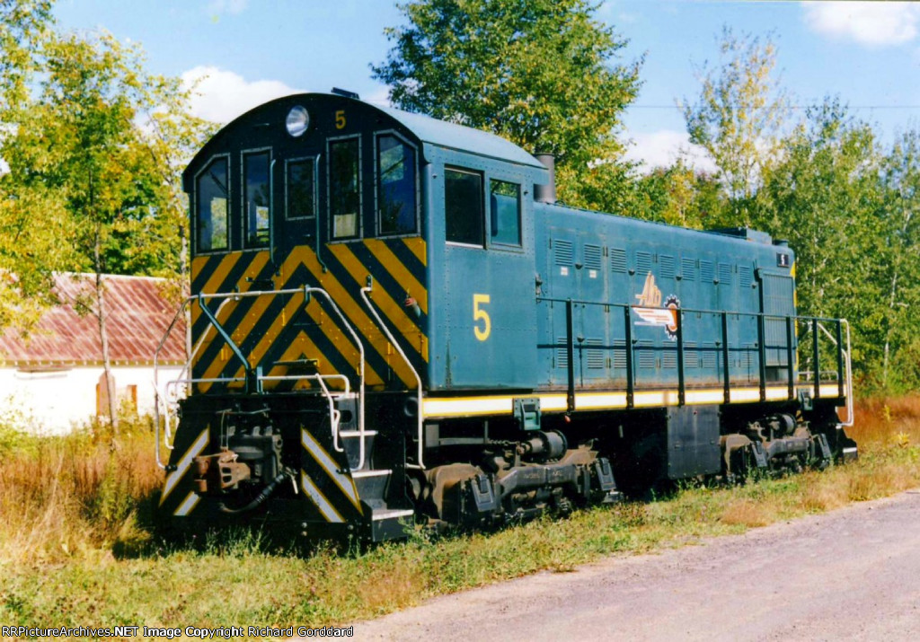 Alco #5 on the UHRR