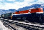 Two BIG ALCOs and an EMD leave Lillooet