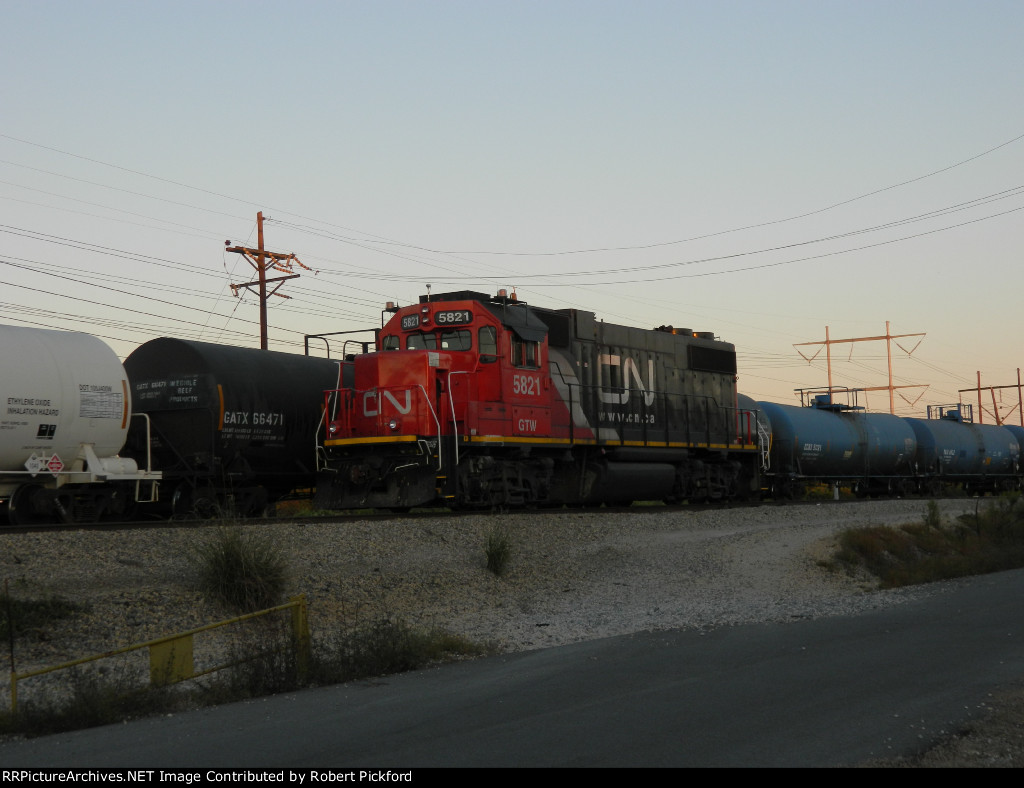 GTW 5821 (GP38-2) SET UP FOR REMOTE OPERATIONS.