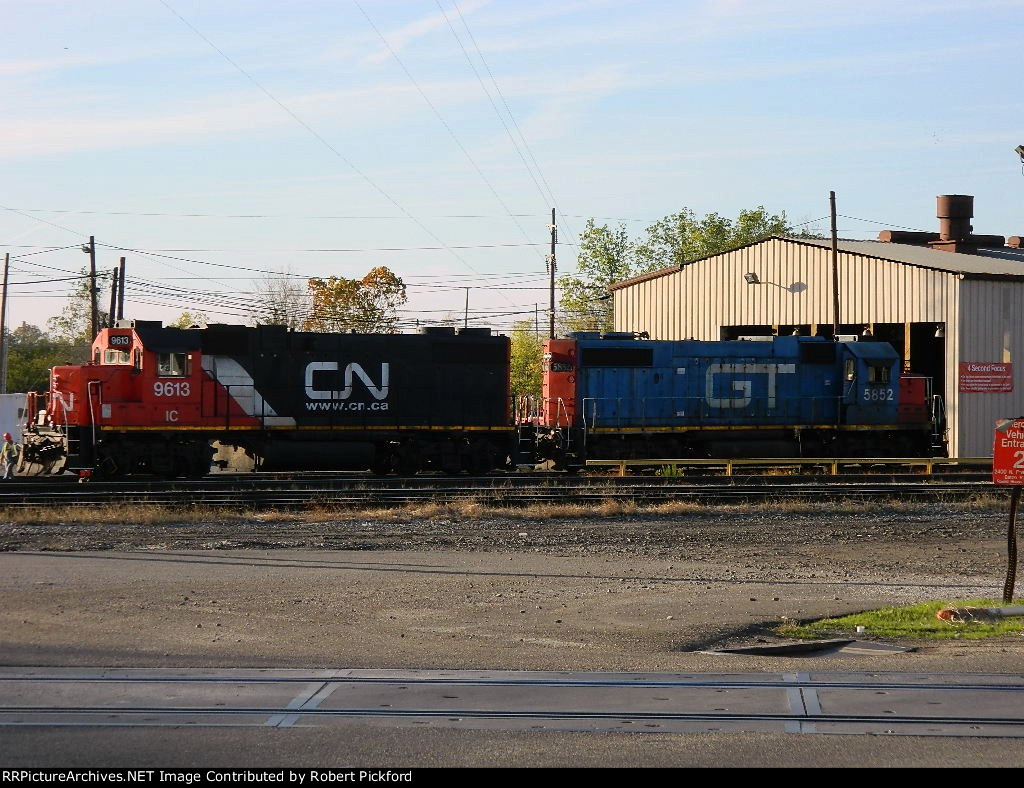 IC 9613 (GP38-2) GTW 5852 (GP38-2)