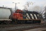 CN 4139 Smoke Plume