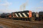 CN 4139 blows more smoke
