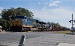 Empty coal train CSX E075