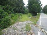 Abandoned CofG railroad at Harris City, Ga.
