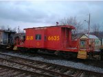 L&N Transfer Caboose #6635 at Latonia, Kentucky