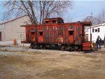 CH&D#161,B&O C1611 being dismantled at Latonia,Ky