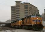 UP 5899 through the West Bottoms