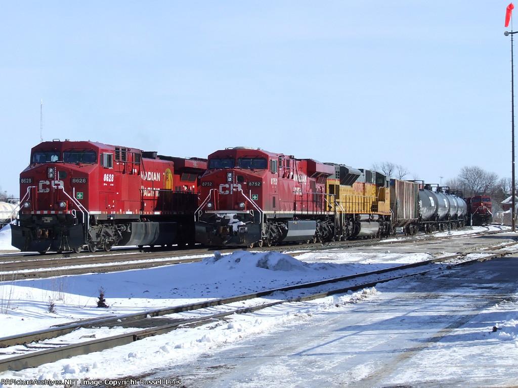 CP 8628, CP 8752, UP 8277, CP 9605