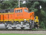 BNSF 6777 on GE Test Track