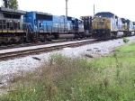 CSXT CW40-9#7916 AND CSXT SD70MACi#775