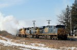 Eastbound CSX Ethanol Train Making it Almost Impossible to See