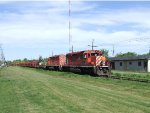 Chalk River CWR train at Arnprior