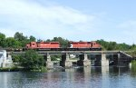 Chalk River CWR Train at Almonte
