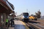 Amtrak California and UP at Santa Clara