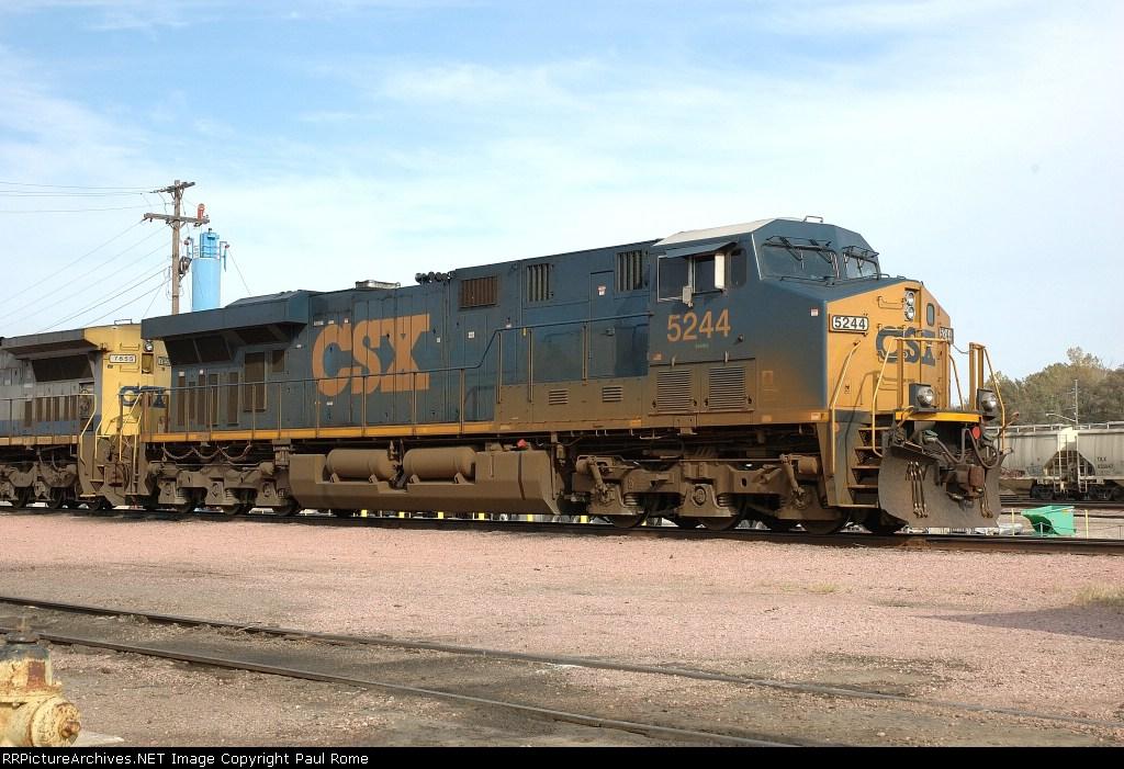CSX 5244, ES44DC, at the BNSF Yard