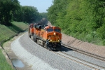 BNSF 5846 - 6093, ES44AC, try out the new double track on the Creston Sub