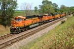 BNSF 5854, GE ES44AC, westbound on the Creston Sub